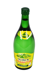 Kühne Surol 7 Kräuter Essig (7 Herb Vinegar) Product of Germany 25.36 oz (750 ml)