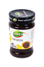 Load image into Gallery viewer, Lowics Plum Butter Product of Poland 10.23 oz