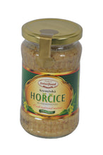 Load image into Gallery viewer, Interfood Original Horcice Kremzska (Sweet & Spicy Mustard) Product of Czech Republic 12 oz