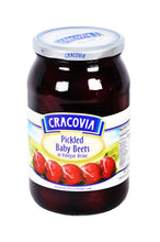 Load image into Gallery viewer, Cracovia Pickled Baby Beets in Vinegar Brine Product of Poland 1 lb