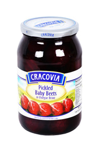 Cracovia Pickled Baby Beets in Vinegar Brine Product of Poland 1 lb