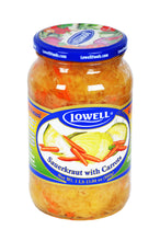 Load image into Gallery viewer, Lowell All Natural Sauerkraut with Carrots Product of Poland 880 g