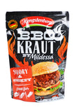 Hengstenberg Mild BBQ Kraut Savory & Smokey Product of Germany 14.1 oz