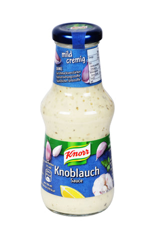Knorr Knoblauch Sauce (Garlic Sauce) Product of Germany 8.45 oz