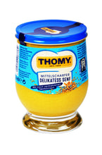 Load image into Gallery viewer, Thomy Mittelscharfer Delikatess Senf (Medium Hot Mustard) Product of Germany 8.45 oz