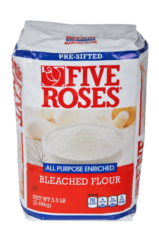 Five Roses All Purpose Enriched Bleached Flour Product of Canada 5.5 lb