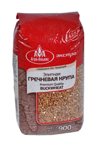 Agro-Alyans Premium Quality Buckwheat Product of Russia 900 g
