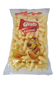 Gusto Pufuleti (Salted Conn Puffs) Product of Romania 85 g