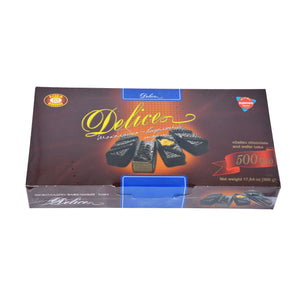 Delice Chocolate and Wafer Cake Product of Ukraine 500 g