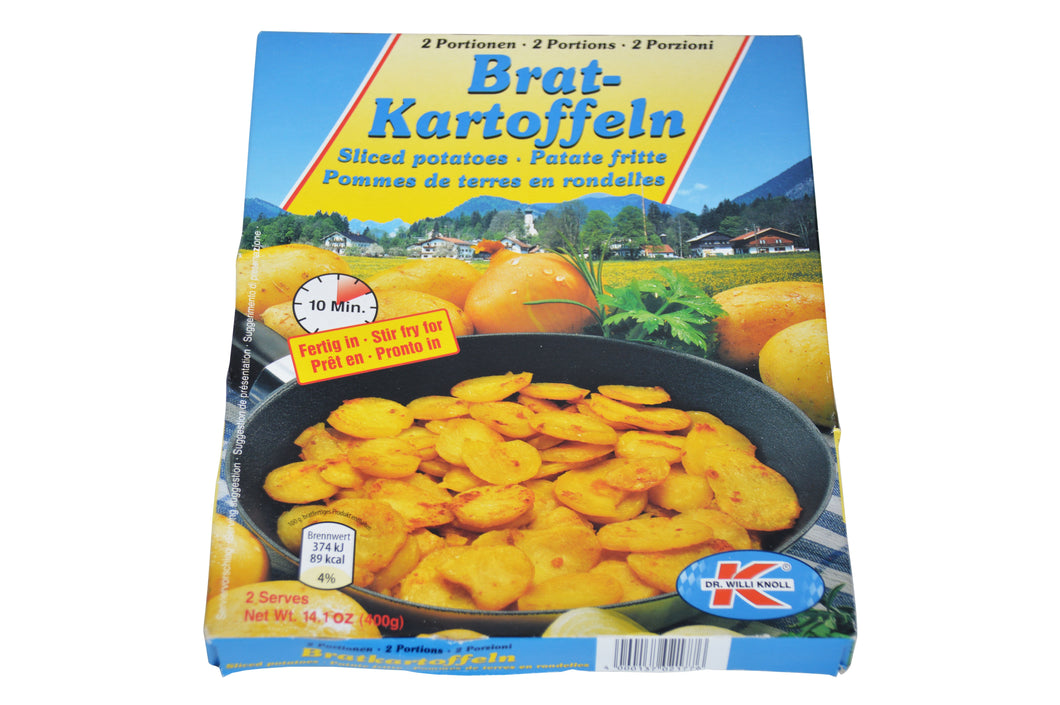 Brat-Kartoffeln Sliced Potatoes Product of Germany 14.1 oz