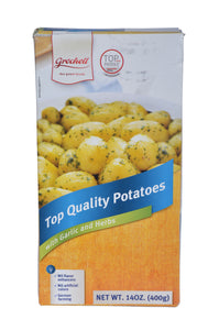 Grocholl Top Quality Potatoes with Garlic and Herbs Product of Germany 14 oz