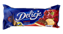 Load image into Gallery viewer, Delicje Cherry European Biscuits Product of Poland 5.18 oz