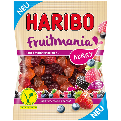 Haribo Vegetarian Fruitmania Berry Product of EU 175 g