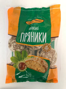 Virnist' Traditziyam Kievhlib Pryaniki Kievskiye Gingerbread Product of Ukraine 14.8 oz