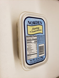 Norden Herring in Mustard Dill Sauce Product of Canada 14.1 oz