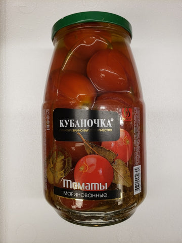 Kubanochka Marinated Tomatoes Product of Russia 53 oz