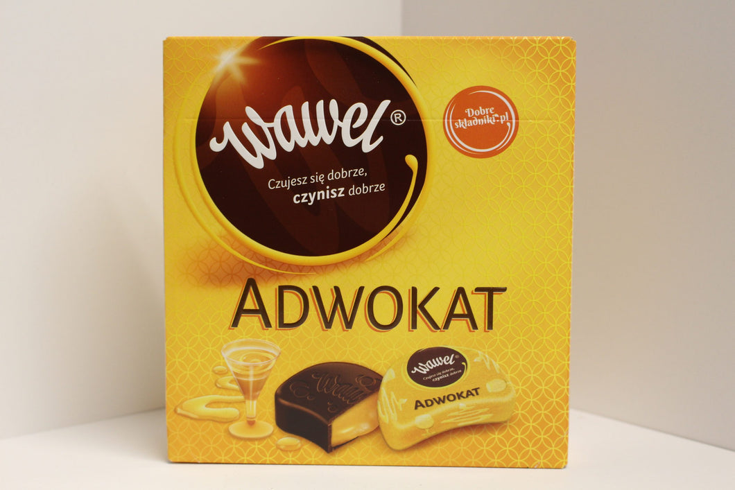 Wawel Adwokat Cocolate Covered Chocolate Product of Poland 15.2 oz