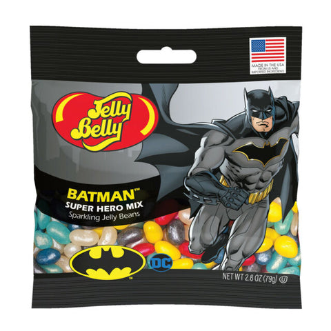 Jelly Belly Batman Super Hero Sparkling Jelly Beans 2.8 oz