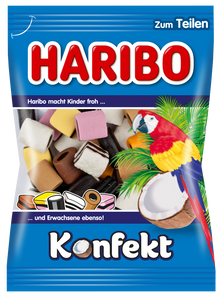 Haribo Konfekt Coconut with Black Licorice Filling Product of EU 200 g
