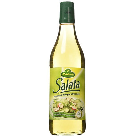 Kühne Salata Seasoned Vinegar Dressing Product of Germany 25.3 oz (750 ml)