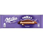 Milka Triolade MMMax Three-Layer Chocolate Bar with White and Dark Chocolate Product of Germany 9.88 oz (280 g)