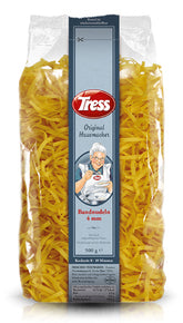 Tress Original Housemacher Bandnudeln Natural Tagliatelle Egg Pasta 4 mm Product in Germany 500 g