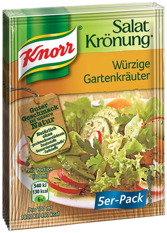 Knorr Spicy Garden-Herbs Dressing Product of Germany 5-Pack
