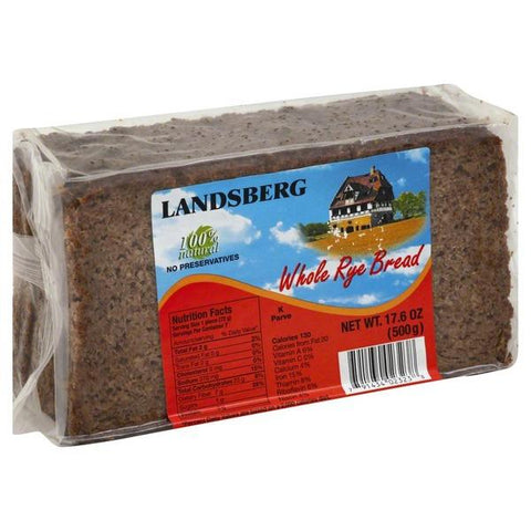 Landsberg 100% Natural Whole Rye Bread 500 g