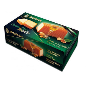 Schlunder Liqueur Cake Amaretto Product of Germany 14 oz
