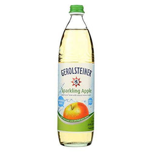 Gerolsteiner Natural Sparkling Apple Product of Germany 25.3 oz