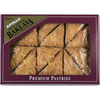 Apollo Premium Walnut and Honey Baklava 22 oz