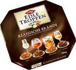 Trumpf Edle Tropfen in Nuss Klassische Brände (Classic Liqueur-filled Pralines with Nuts) Product of Germany 250 g