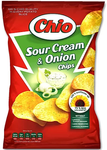 Chio Sour Cream & Onion Chips Product of Poland 100 g