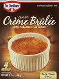 Dr. Oetker Instant Classic Creme Brulee with Caramelizing Sugar Product of Canada 3.7 oz