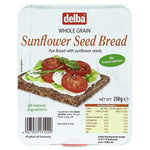 Delba All Natural Whole Grain Rye Sunflower Seed Bread Product of Germany 250 g