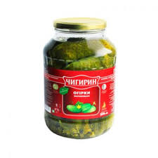 Chigirin Dill Pickles Product of Ukraine 1500 g