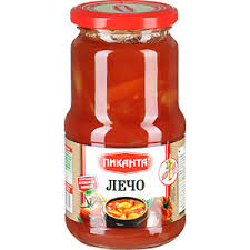 Pikanta Letcho Bell Pepper in Tomato Juice Product of Russia 18.37 oz