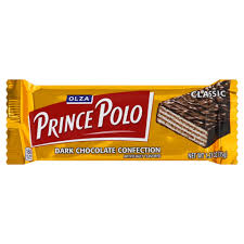 Olza Prince Polo Classic Dark Chocolate Confection Product of Poland 1.23 oz