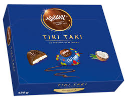 Wawel Tiki Taki Praline and Coconut Chocolates Product of Poland 15.2 oz