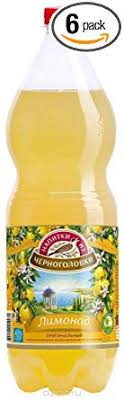 Chernogolovka Carbonated Lemonade Product of Russia 67.6 oz (2 L)
