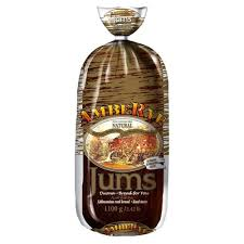 Ambe Rye Natural Jums Healthy Real Rye Bread Product of Lithuania 2.43 lb