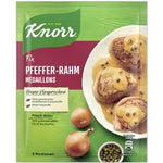 Knorr Fix Pfeffer Rahm Medaillons (Pepper Cream Medallions) Product of Germany 35 g