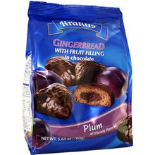 Load image into Gallery viewer, Krakus Gingerbread with Fruit Filling in Chocolate Plum Flavored Product of Poland 5.64 oz