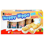 Kinder Happy Hippo Milk and Hazelnut Biscuits 5-Pack