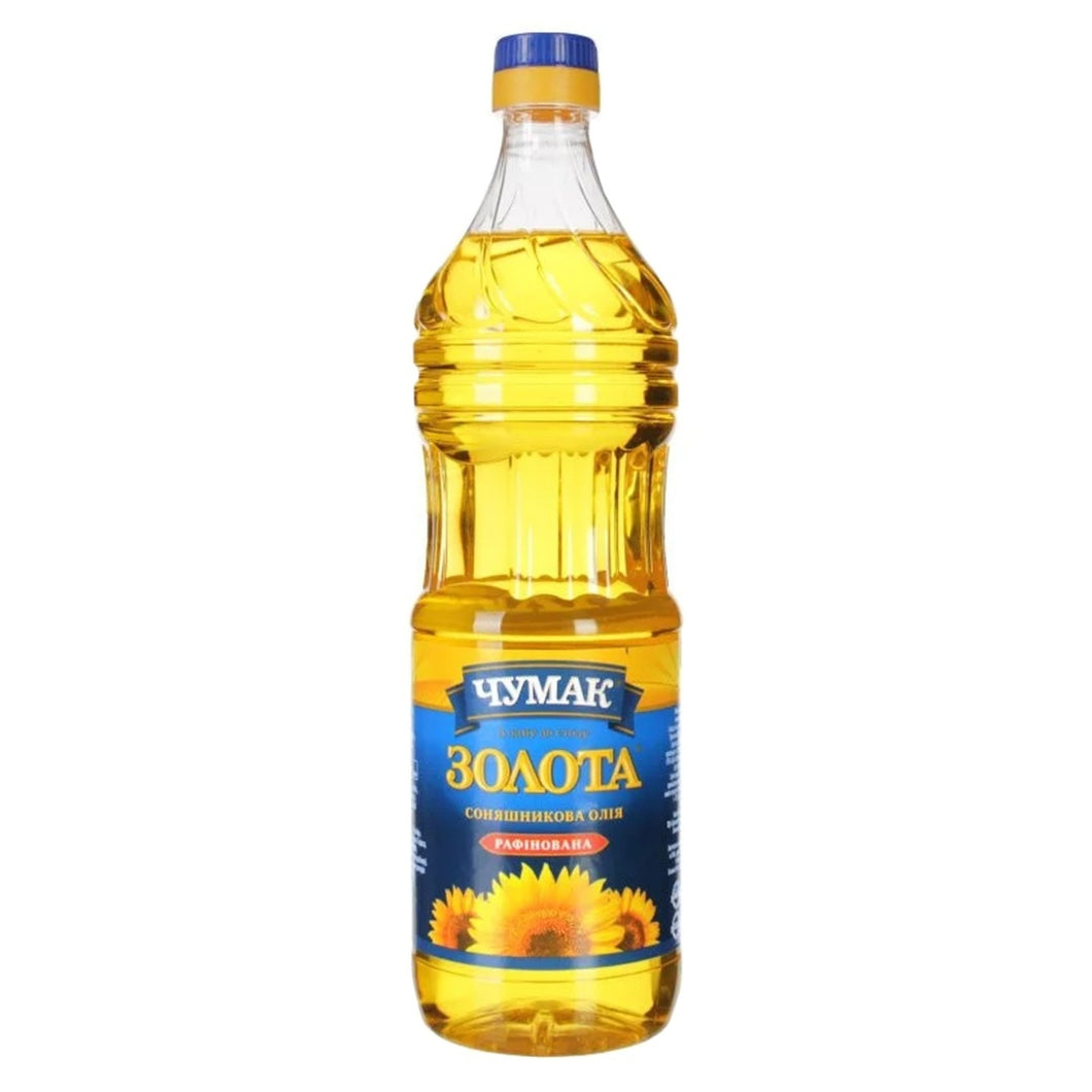 Chumak Zolota Sunflower Oil Product of Ukraine 828 g