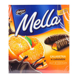 Mella Chocolate Coated Orange Jelly Product of Poland 6.70 oz
