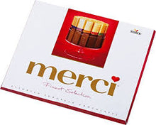 Load image into Gallery viewer, Storck Merci Finest Assortment of European Chocolates Product of Germany 7 oz