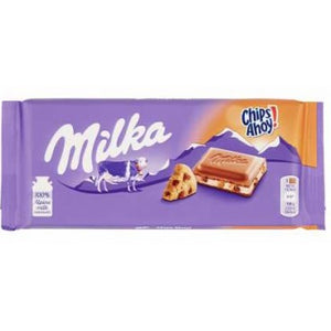 Milka Chips Ahoy Milk Chocolate Bar Product of Germany 3.5 oz
