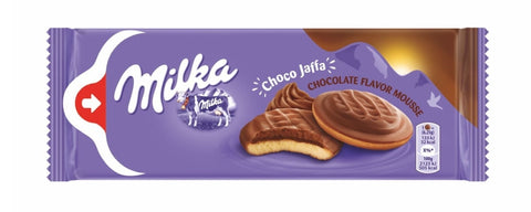 Milka Milk Chocolate Topped Biscuit with Chocolate Flavor Mousse Product Poland 4.52 oz