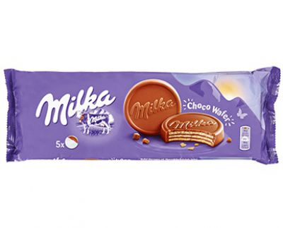 Milka Choco Wafer Product of Germany 5.25 oz